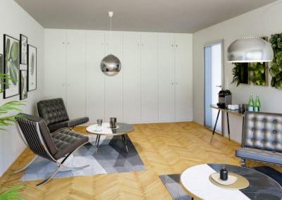Lounge und Wartebereich